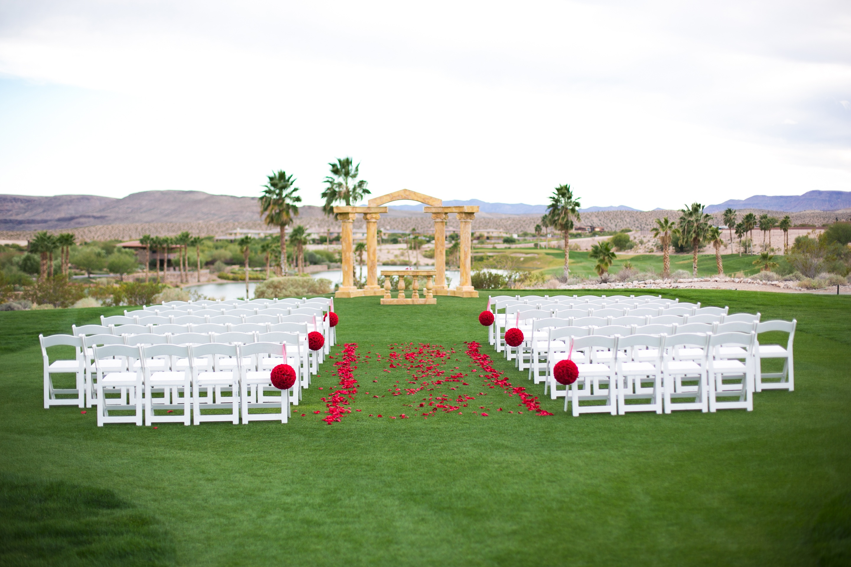 Wedding Lawn With Views Of Red Rock Canyon V 00375 This Las Vegas